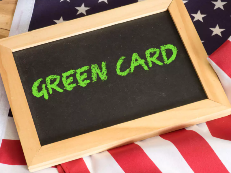 come richiedere la green card