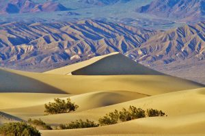 mesquite flats death valley